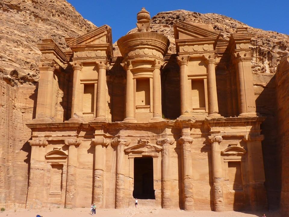 The Petra, capital of an ancient Nabataean civilization in Jordan