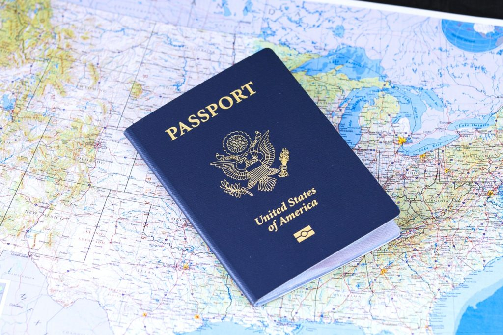 You'll need a passport to even begin the visa application, so make sure you have one!