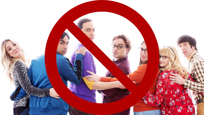 Despite its popularity in the States, the Big Bang Theory is banned in China!
